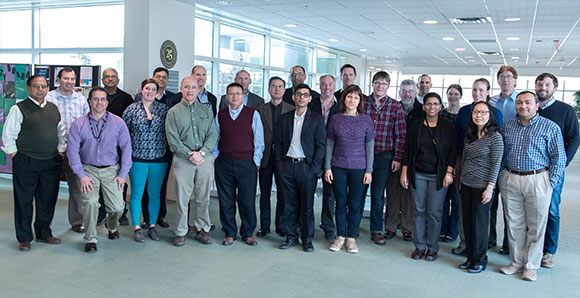 Materials Science faculty visit ARL research facility