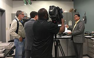 Rajiv Mishra interviewed by Fox 4, CW33