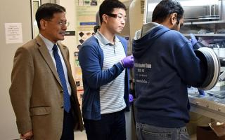 UNT researchers create thin material